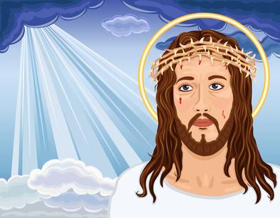 The Resurrection - Portrait of Jesus Christ