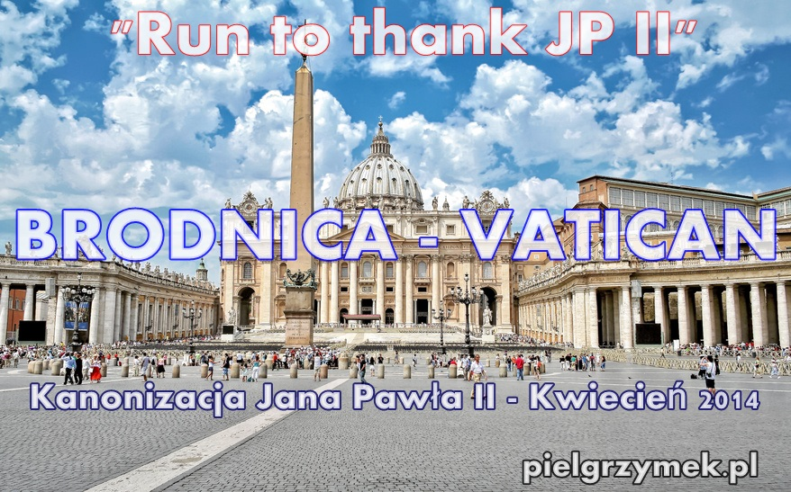 """Run to thank JP II"""