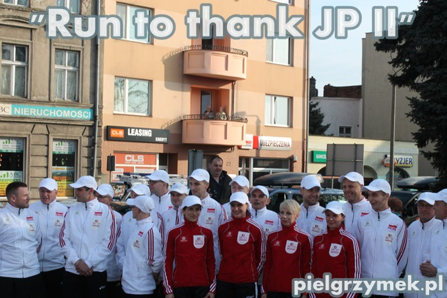 Run to thank JPII - 3