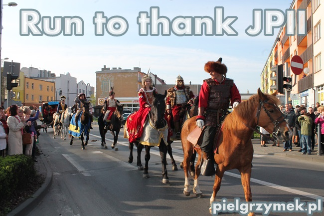 Run to thank JPII - 4