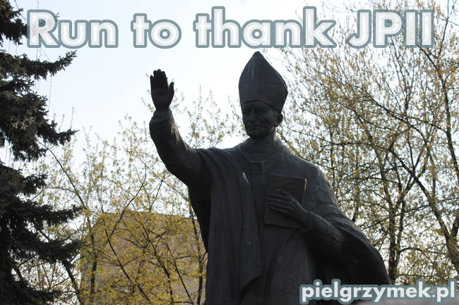 Run to thank JPII - 8