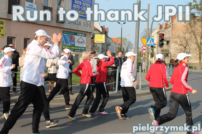Run to thank JPII - 9